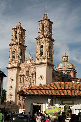 Photograph - Cathedral In Taxco Mexico by Carl Purcell