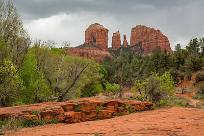 Cathedral Rock Photograph - Cathedral Rock by Jon Manjeot