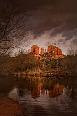 Cathedral Rock Wall Art - Photograph - Cathedral Rock by Medicine Tree Studios