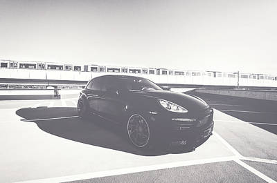 Car Photograph - Cayenne by Cristian Todea
