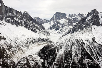 Photograph - Chamonix Resort In The French Alps by Pierre Leclerc Photography