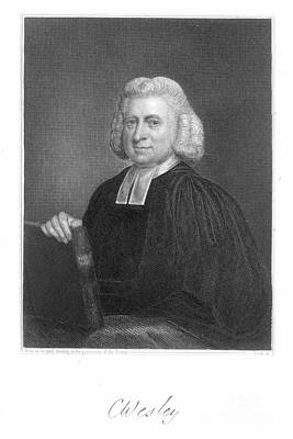 Clergy Photograph - Charles Wesley (1707-1788) by Granger