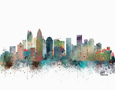 Charlotte North Carolina Art Print