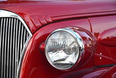 Edward Hopper - Chevy Headlight by Dean Ferreira
