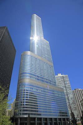 Photograph - Chicago Skyscraper by Frank Romeo