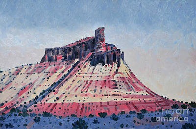 Painting - Chimney Rock by Donald Maier