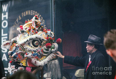 Chinese New Year 1963 Art Print by The Harrington Collection
