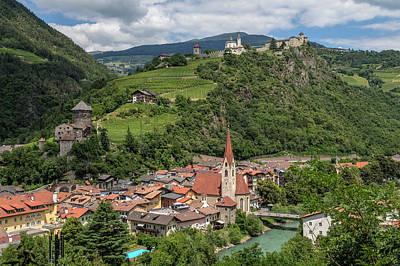 Tyrol Wall Art - Photograph - Chiusa - Italy by Joana Kruse