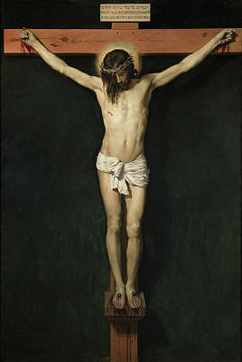 Religious Art Painting - Christ On The Cross by Diego Velazquez
