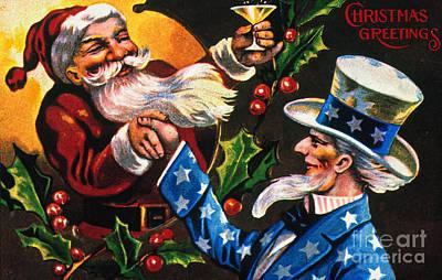 Christmas Card Art Print by Granger