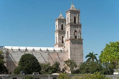 Digital Art - Church Of San Servacio by Carol Ailles