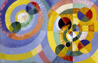 Formes Painting - Circular Forms by Robert Delaunay
