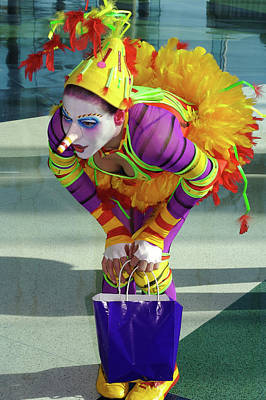 Aloha For Days - Cirque de Soleil Clown by Carl Purcell