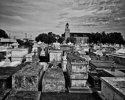 City Of The Dead - New Orleans Art Print