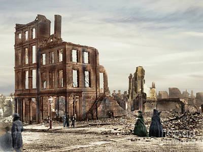 Photograph - Civil War, Fall Of Richmond.  by Granger
