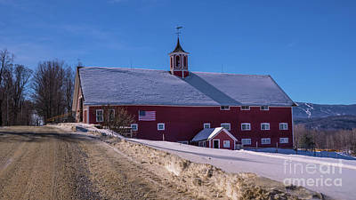 Photograph - Classic Vermont Scene by Scenic Vermont Photography