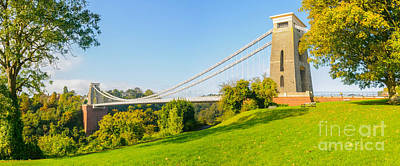 Photograph - Clifton Suspension Bridge, Bristol by Colin Rayner