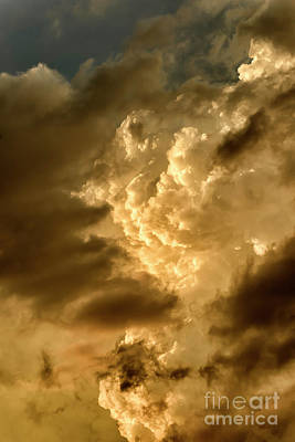 Photograph - Clouds At Sunset by Thomas R Fletcher