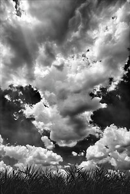 Clouds Art Print by Robert Ullmann