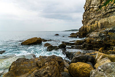 Cliffs Photograph - Coastline Of The Bay by Ric Schafer