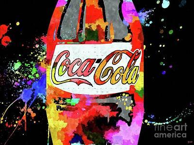 Coca-cola Signs Mixed Media - Coca-cola by Daniel Janda