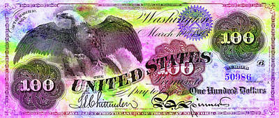 Color Of Money Art Print