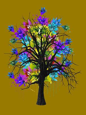 Color Tree Collection Art Print by Marvin Blaine