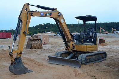3 - Construction Equipment Series Art Print
