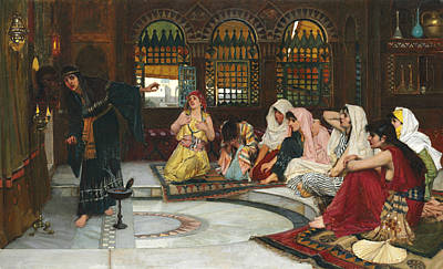 Painting - Consulting The Oracle by John William Waterhouse