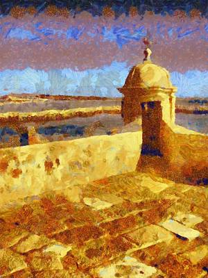 Spain Painting - Continental Journey by Pierre Blanchard