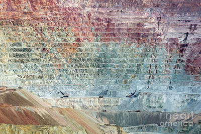 Photograph - Copper Mine by Jim West