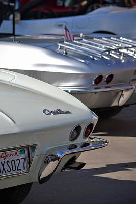 Photograph - Corvette Detail by Dean Ferreira