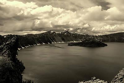 Photograph - Crater Lake Oregon by Unsplash