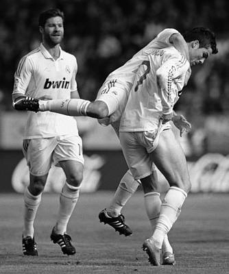 Athletes Royalty-Free and Rights-Managed Images - Cristiano Ronaldo 8 by Rafa Rivas