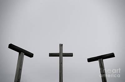 Photograph - 3 Crosses by Liz Masoner