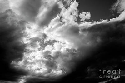 Photograph - Cumulonimbus Clouds by Jim Corwin