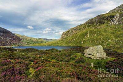 Photograph - Cwm Idwal by Ian Mitchell