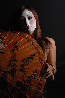 Photograph - Dance Of The Geisha by Jerome Holmes
