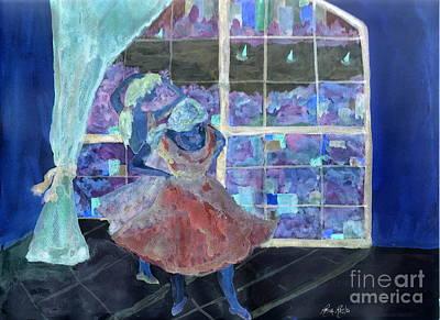 Painting - Dansarinas by Reina Resto