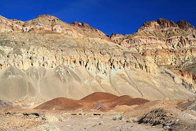 Death Valley's Harsh Landscape Art Print