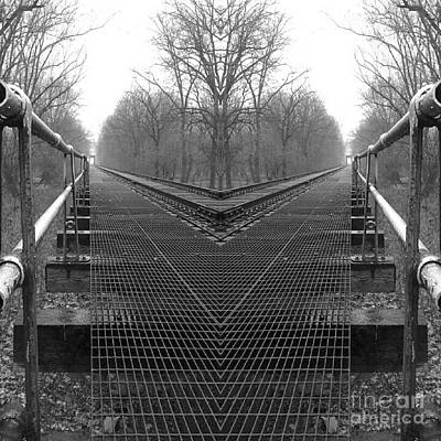 Which Way Photograph - Decisions - Black And White by Scott D Van Osdol