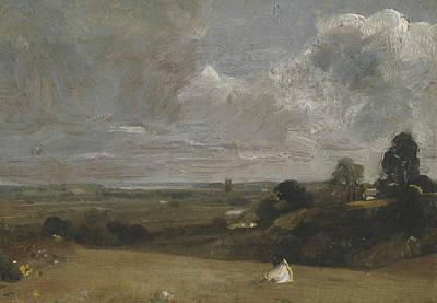 Dedham Painting - Dedham From Langham by John Constable