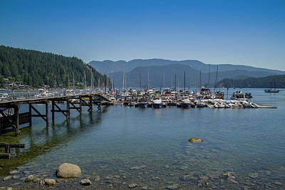 Photograph - Deep Cove by Ross G Strachan