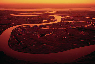 Photograph - Delta Of The Ganges by Carl Purcell