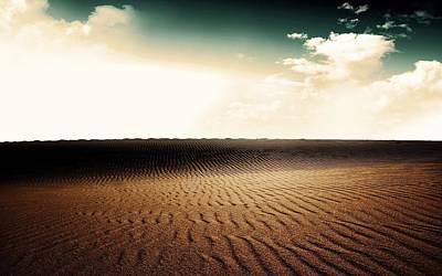 Pattern Digital Art - Desert by Super Lovely