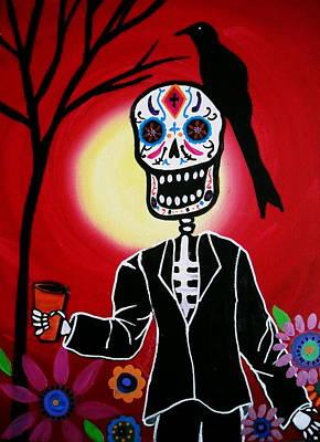 Dia De Los Muertos Art Print by Pristine Cartera Turkus