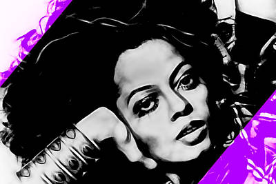 Diana Ross Collection Art Print