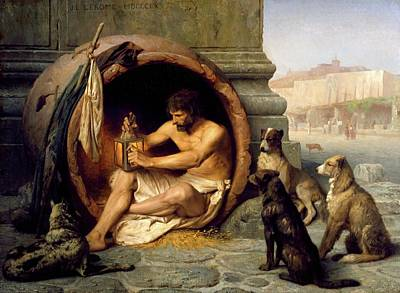 Painting - Diogenes by Jean Leon Gerome