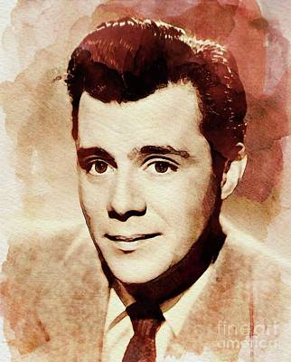 Dirk Painting - Dirk Bogarde, Vintage Actor by John Springfield