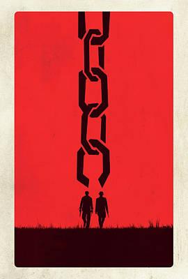 Scary Digital Art - Django Unchained 2012 by Fine Artist